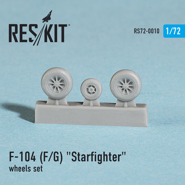 "Res.Kit F-104 (F/G) ""Starfighter"" wheels"