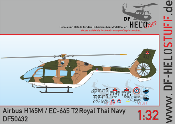 Decals H145 Royal Thai Navy