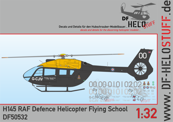 Decals H145 Royal Air Force