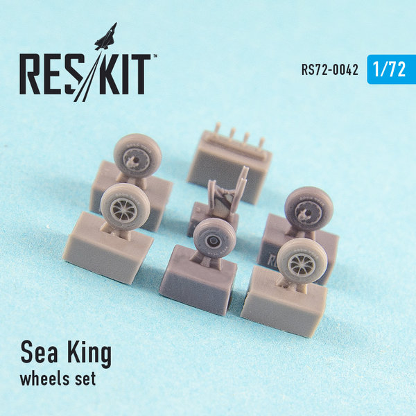 Sea King (all versions) wheels set 1:72