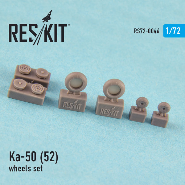 Ka-50 (52) (all versions) wheels set 1.72