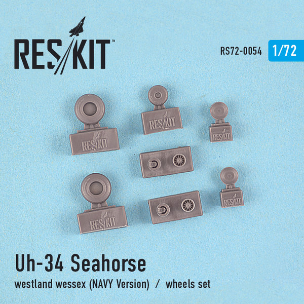 UH-34 SeaHorse / Westland Wessex (NAVY Version) wheels set 1:72