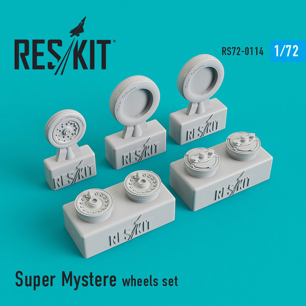 Dassault Super Mystère wheels set 1:72