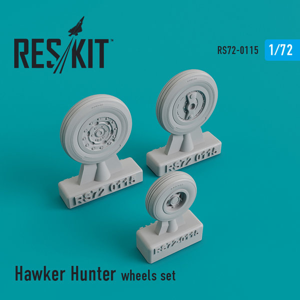 Hawker Hunter wheels set 1:72