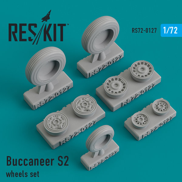 Buccaneer S2 wheels set 1:72