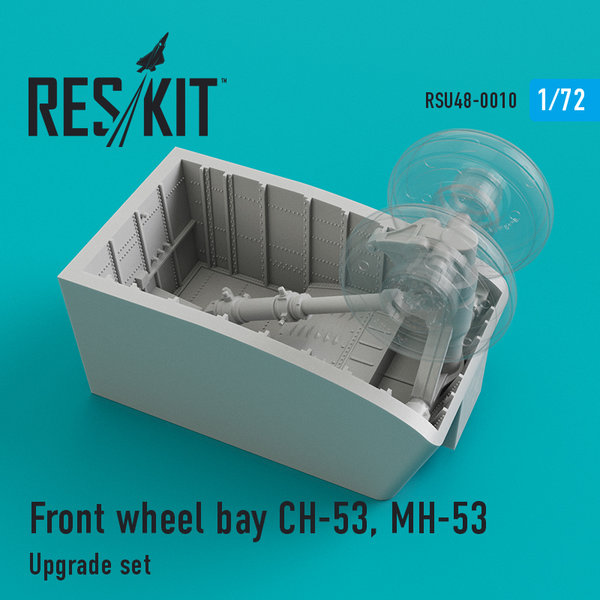 Front wheel bay CH-53, MH-53