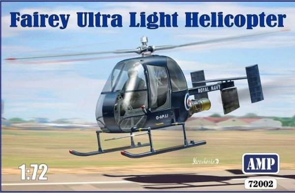 Fairey Ultra Light Helicopter AMP 1:72