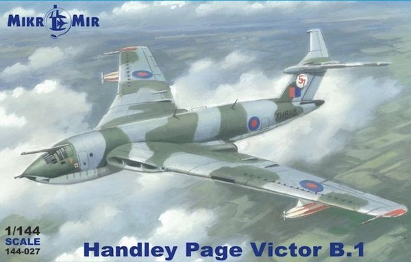 Handley Page Victor B.1 MikroMir 1:144