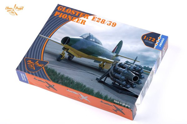 Clear Prop! Gloster E28 / 39 Pioneer 1:72 CP72001 Expert Kit
