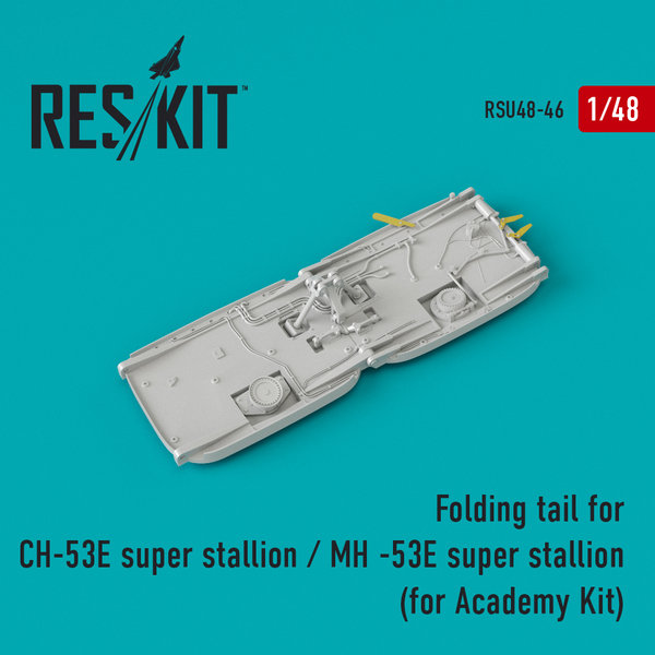 ResKit Folding Tail für CH-53E/ MH-53E 1:48 RSU48-0046 (for Academy)