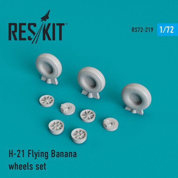 ResKit H-21 Flying Banana wheels set 1:72 RS72-0219