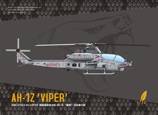 Dream Model DM720012 AH-1Z Viper 1:72