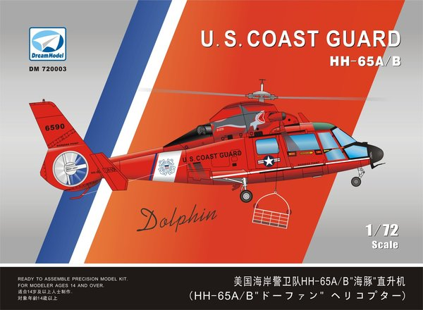 Dream Model DM720003 HH-65A /B US Coast Guard 1:72