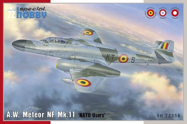 "Special Hobby SH72358 A.W. Meteor NF Mk.11 ""NATO Users"" 1:72"