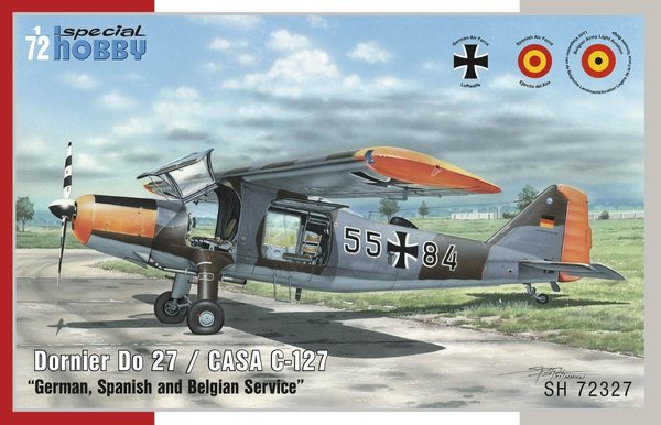 "Special Hobby SH72327 Dornier Do-27 ""German, Spanish and Belgian Service"" 1:72"