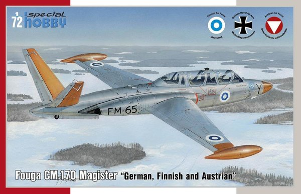"Special Hobby SH72373 Fouga CM.170 Magister ""German, Finnish and Austrian"""