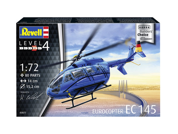 Revell 03877 Eurocopter EC 145 Builders Choice 1:72